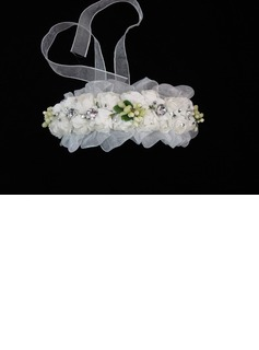 Lovely Paper Flower Wedding Flower Girl Headband/ Headpiece (042025232)