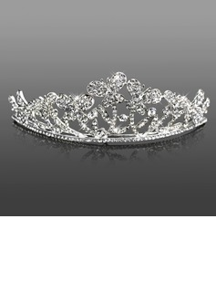 Headpieces (Attractive Clear Crystals Wedding Bridal Tiara 042005470)