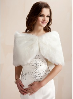 Wedding Faux Fur / Scialle Occasioni speciali (013003848)
