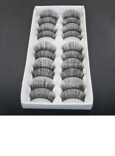 Long, Curved Fashion Lashes With Added Volume - 10 Pairs Per Box(046004565)