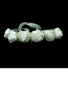 Elegant Satin With Flower Women's Headbands (042025233)