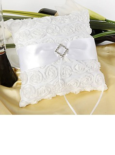 Rose Ring Pillow With White Sash(103018291)