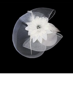 Beautiful Flannelette With Feather Women's Wedding Fascinators(More Colors) (042024904)