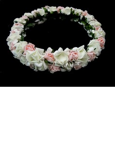 Paper Flower Wedding Flower Girl Headpiece (042025211)