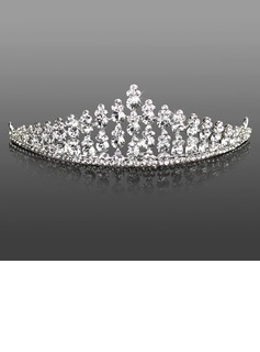 Headpieces (Attractive Clear Crystals Wedding Bridal Tiara042005469)