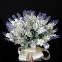 Charming Round Satin Bridesmaid Bouquets (123031371)