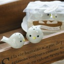 Bird's Nest Ceramic Salt & Pepper Shakers With Ribbons (Set of 2 pieces) (051005573)