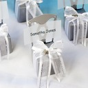 Chair Design Cubic Favor Boxes With Ribbons (Set of 12) (050005517)