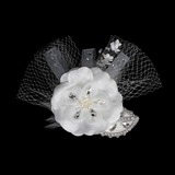 Flowers Wedding Special Occasion Crystal As the Picture Headpieces With As the Picture (042015991)