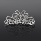 Hair Combs Wedding Casual Crystal Rhinestone Silver Headpieces With Clear (042017803)