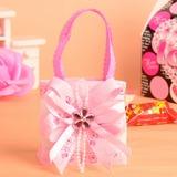 Süße Liebe Handtasche geformt Geschenktaschen mit Bänder (Satz von 12)