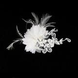 Gorgeous Feather/Lace Fascinators/Combs & Barrettes