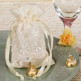 Lovely Favor Bags With Laces (Set of 12)