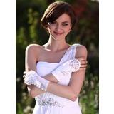 Elastische Satin Handgelenk Länge Party/Weise Handschuhe/Braut Handschuhe