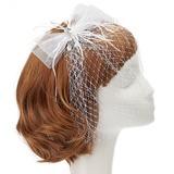 Mode Fil net/Feather Chapeaux de type fascinator avec Strass/Perle Vénitienne
