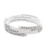 Charming Alloy/Platinum Plated With Crystal Ladies' Bracelets