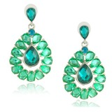 Exotic Alloy Resin Women's Fashion Earrings (011029978)