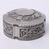 personalisé Rond En alliage de zinc Porteurs de bijoux