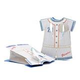 Design des robes pour bébé Cuboïd Sacs cadeaux avec Rubans