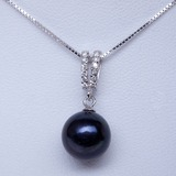 """Prächtig Perle/925 und Kette/""""AA"""" Perle Frauen Halsketten"""