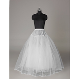 Nylon Full Gown Ball Gown 4 Tier Floor-length Slip Style/ Wedding Petticoats (037023566)