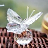 Papillon Cristal Souvenir avec Rubans