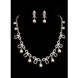 Jewelry (Pearl Artistic Ladies' Jewelry Set 011005486)