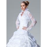 Long Sleeve Lace Wedding Wrap