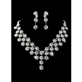 Gorgeous Rhinestone/Imitation Pearl Bridal Jewelry Set  (011013121)