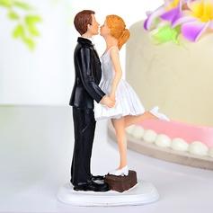 Suudellen Pari Hartsi Häät Kakunpäälliset