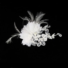 Gorgeous Satin / Lace Wedding Bridal headpiece (042012232)