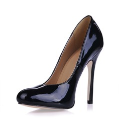 Patent Leather Stiletto Heel Pumps Closed Toe schoenen