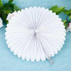 "10""(25cm) Pure/Fan Shaped Paper Flower (set of 6) (More Colors)"