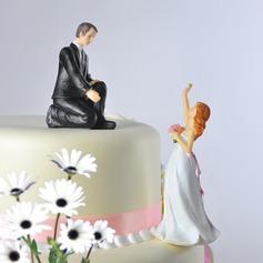 Klassiska par/Rolig & Ovilliga Tårtdekoration