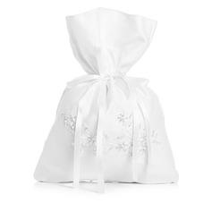 Charmen Satäng med Imitation Pärla Brudväska