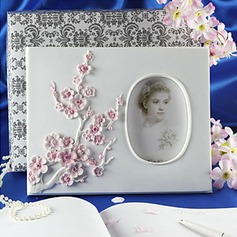 Beautiful Resin Sakura Wedding Guest Book(101018134)