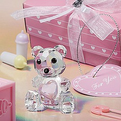 Crystal Teddy Bear Keepsake For Baby (051024186)