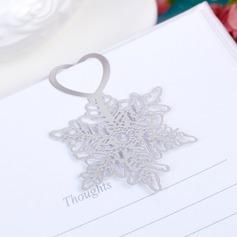 Classic Snow Design Zinc Alloy Bookmarks