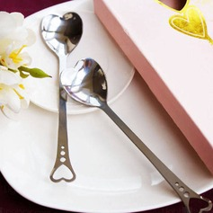 Loving Hearts Stainless Spoon Set Wedding Favors (Set of 2) (051013608)
