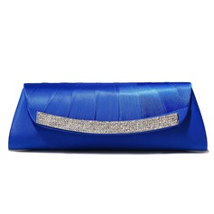 Royalblue Gorgeous Silk Shell With Austrian Rhinestones Evening Handbags/ Clutches More Colors Available (012005439)