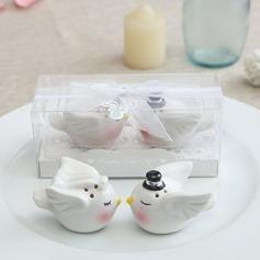 """Love Bird"" Lovely Birds Ceramic (Set of 2)"