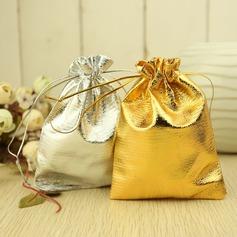 Metallic Kordelzug Geschenktaschen (Satz von 12)