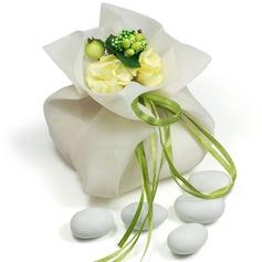 Tema Bastante Floral Bolsos de regalos con Flores/Cintas (Juego de 12)