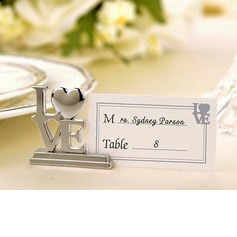Love Design Chrome Place Card Holders Set Of 4 (089025020)