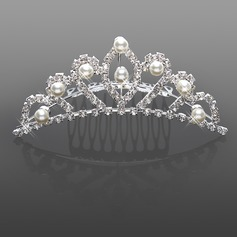 Upea Akryylitimantit jljitelm Pearl Wedding Flower Girl Tiara / Phine (042015968)