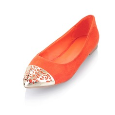 Closed Toe Flats With Hollow-out (086025191)