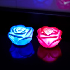 Color changing Rose shaped LED Lights (set of 4)