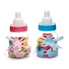 Baby draagt Snoeppotten met Linten (Set van 12)