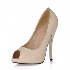 Cuero Tacón stilettos Sandalias Encaje zapatos
