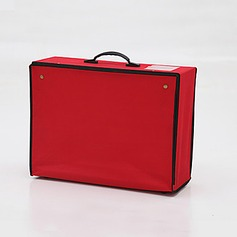 Faux Leather Garment Bag (035024119)